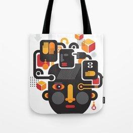 See no evil. Tote Bag