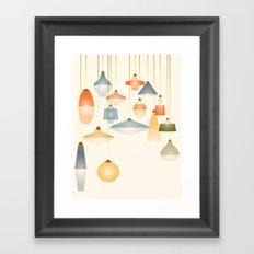 la belle lumière Framed Art Print