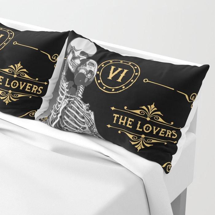The Lovers VI Tarot Card Pillow Sham