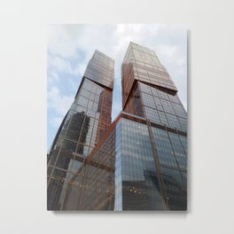 Moscow city buildings Metal Print
