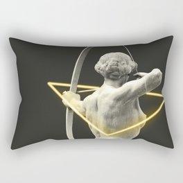 Artemis yellow neon Rectangular Pillow