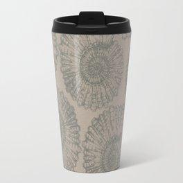 ammonite I pattern Travel Mug