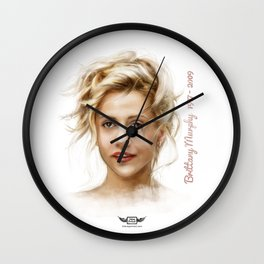 Brittany Murphy Wall Clock