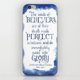 The Souls of Believers iPhone Skin