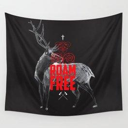 Roam Free Wall Tapestry
