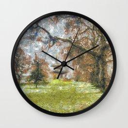Pagoda Battersea Park Art Wall Clock