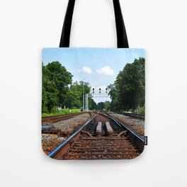 A Fork In The Road Tote Bag