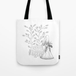 Lady of the Well Tote Bag