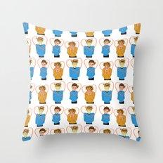 Star Trek Triumvirate Throw Pillow