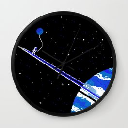 Forever Saturnine Wall Clock