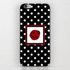 Ladybug And Polkadots iPhone Skin