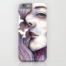 Dreams of freedom, watercolor artwork iPhone 6s Slim Case