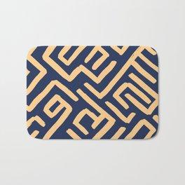 Maze pattern Bath Mat