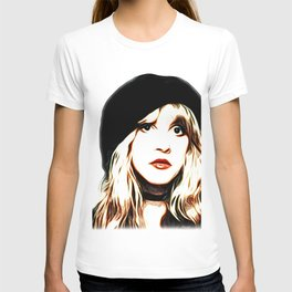 Stevie Nicks - Rhiannon - Pop Art T-shirt