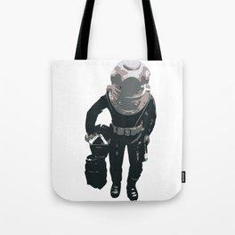 Scuba Diver Tote Bag