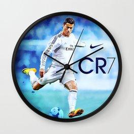 Cristiano Ronaldo Juventus Wall Clock