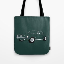 1968 Ford Mustang GT Tote Bag
