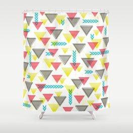 Wild Triangles Shower Curtain