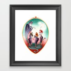 Sleeping Beauty, Mirror Framed Art Print