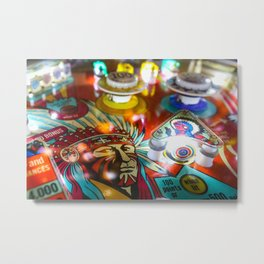 Pinball - Games of Chance Metal Print