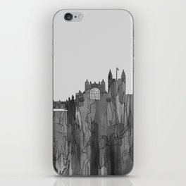 Bath, England Skyline - Navaho B&W iPhone Skin