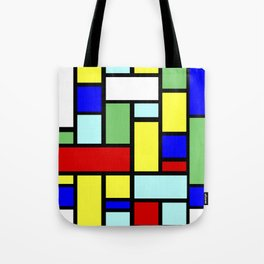 Colorful pattern Tote Bag