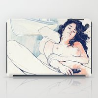 freedom iPad Cases featuring Nothing to say by Anton Marrast