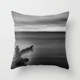 In Stillness II Throw Pillow