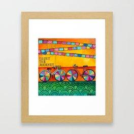 Trust your Journey  Framed Art Print