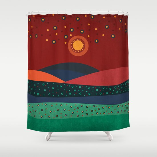 Textures/Abstract 140 Shower Curtain