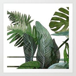 Botani Greenhouse Art Print