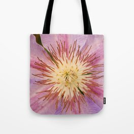 Sugar-Pink Flower Design Tote Bag