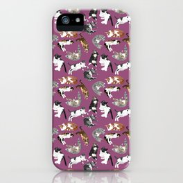 Lounging Cats iPhone Case