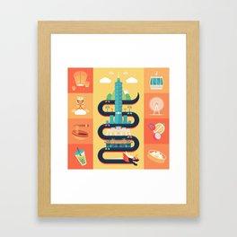 Taipei Taiwan Framed Art Print