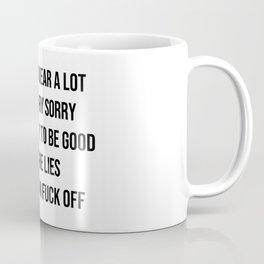 I swear a lot - V1 Coffee Mug