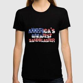 America's Greatest Sandblaster T-shirt