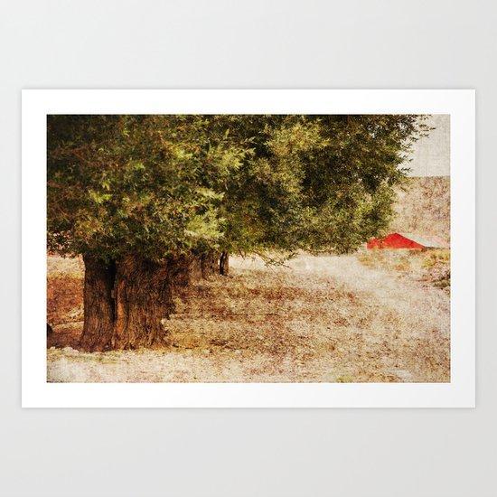 Path to Passion Art Print