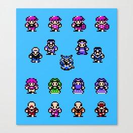 God Slayer Famicom Canvas Print