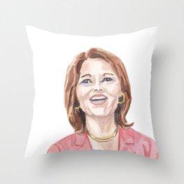 Women of the 112th - Rep. Cheri Bustos Throw Pillow