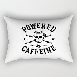 Powered By Caffeine Rectangular Pillow