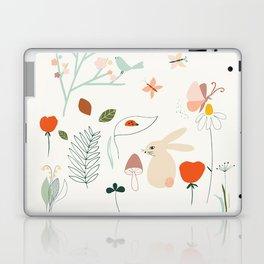 Meadow Blossom Laptop & iPad Skin