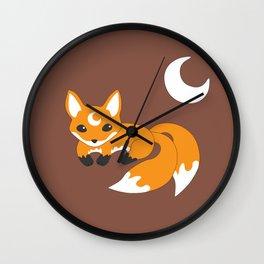 Kitsune Fox Wall Clock