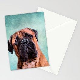 Bullmastiff dog Stationery Cards