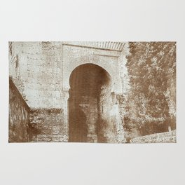 The Alhambra. Puerta de la Justicia Rug