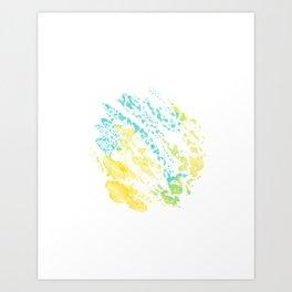 abstract watercolor 5 Art Print