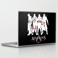 assassins creed Laptop & iPad Skins featuring Assassins by Pixel Design