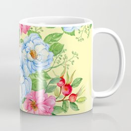 Vintage Floral Pattern No. 4 Coffee Mug