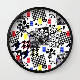 Flor De Lis Wall Clock