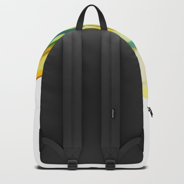 What The World Needs Now. Yellow Marble. Backpack