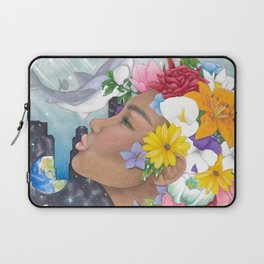 Beauty in Abstract-Realism Laptop Sleeve